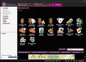 BorgataCasino Online Blackjack Titles
