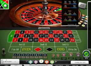 BorgataCasino Online European Roulette