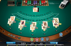 Micro-Limit Blackjack 10