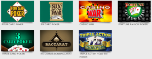 CaesarsCasino Other Online Table Games