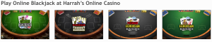 HarrahsCasino NJ Online Blackjack
