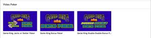 PartyPoker Casino Video Poker Titles