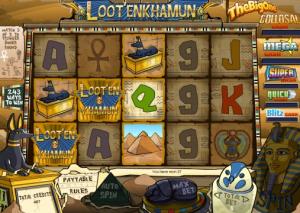 PartyPoker Casino Loot'enkhamun Slot