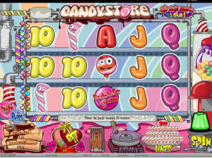 PartyPoker Casino Candy Store Slot