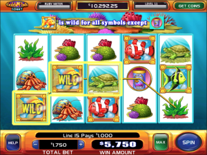 TropicanaCasino Gold Fish Slot
