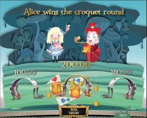 TropicanaCasino Wonderland Croquet Bonus