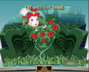 TropicanaCasino Wonderland Paint the Roses Bonus Game