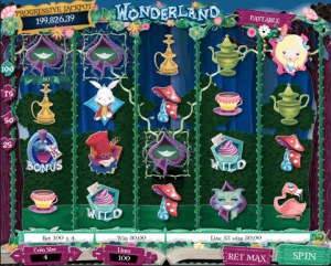 TropicanaCasino Wonderland Slot