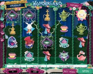 TropicanaCasino Wonderland Slot