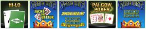 TropicanaCasino Online Table Games Menu