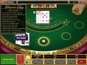 TropicanaCasino Atlantic City Blackjack