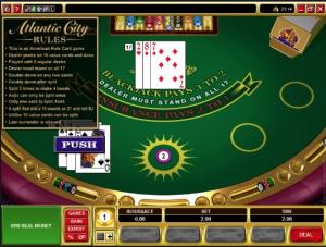 TropicanaCasino Atlantic City Blackjack