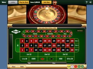 TropicanaCasino Single Zero Roulette