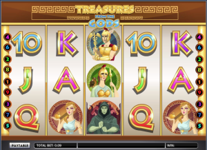 TropicanaCasino Treasures of the Gods Slot