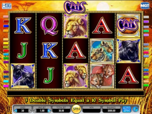 TropicanaCasino Cats Slot