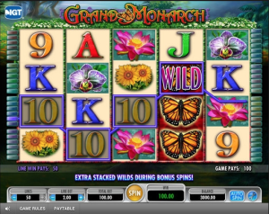 TropicanaCasino Grand Monarch Slot
