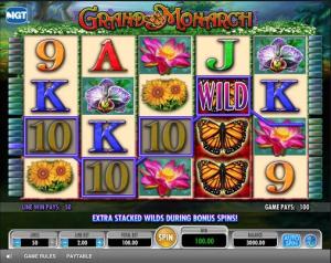 TropicanaCasino Grand Monarch Slot