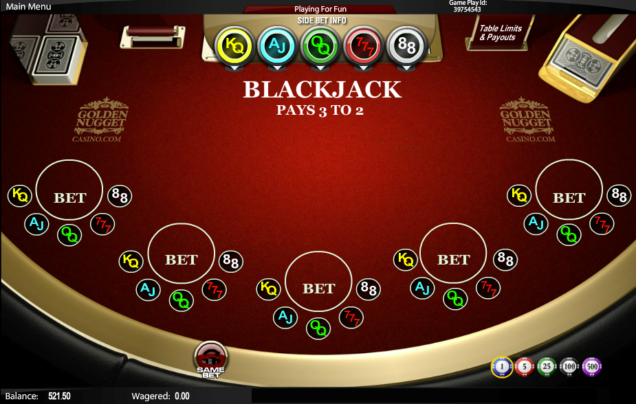 golden nugget online casino slizing hot