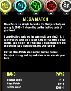 Golden Nugget Casino NJ Mega Match