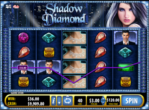 Golden Nugget Casino NJ Shadow Diamond Slot